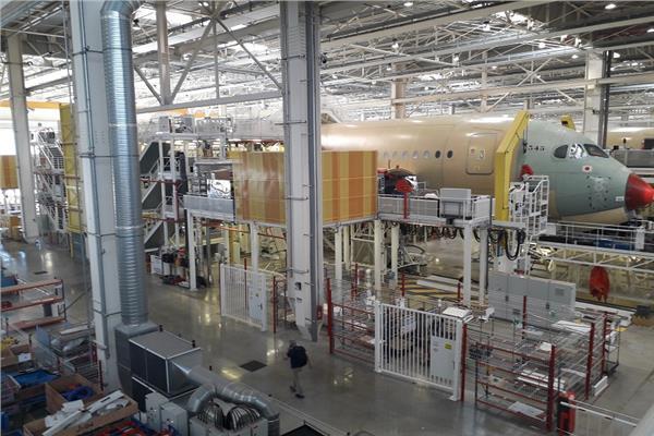 بوابة أخبار اليوم تزور خط التجميع النهائي لطائرة الـA350