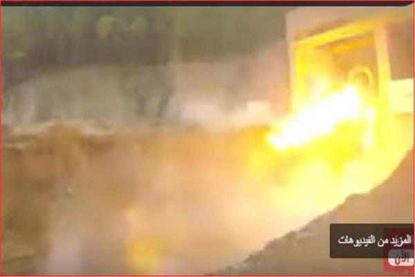 محرك صاروخي صيني يعمل بالميثان