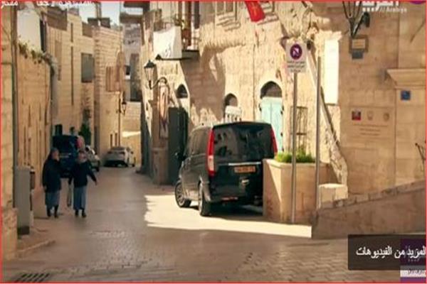 """شارع """"النجمة""""، فى مدينة بيت لحم بفلسطين"""