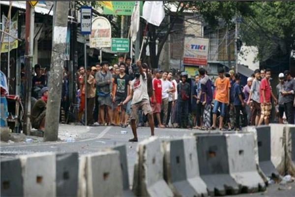 المظاهرات في إندونيسيا