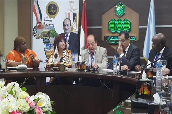 «المستثمرات العرب» يستضيف وفد رجال الأعمال النيجيري