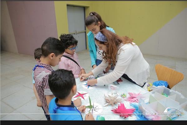 ورش عمل للأطفال بمتحف الآثار بمكتبة الإسكندرية