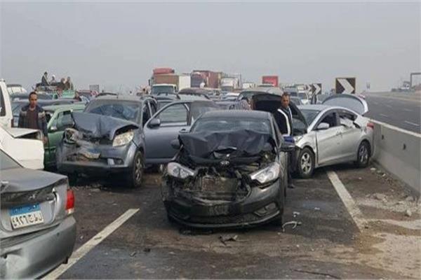 مصرع 4 أشخاص وإصابة 11 في حادثي تصادم في الإسكندرية