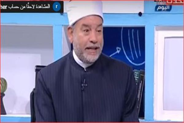 الشيخ خالد عبد العظيم كبير الباحثين بالدعوة والإفتاء بالأزهر الشريف