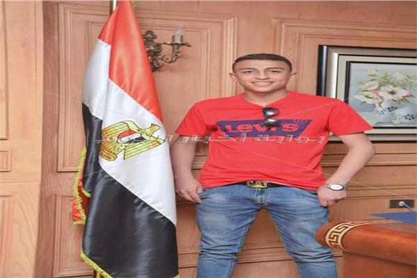الهجرة تستقبل البطل المصري رامي شحاتة