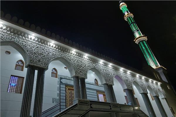 نموذج من المساجد الجديدة