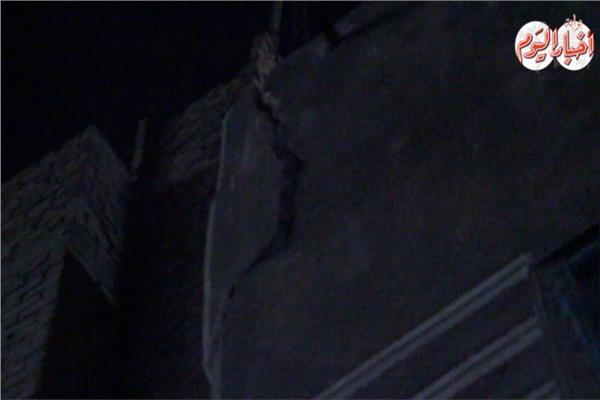 سقوط سقف حجرة عقار بدون إصابات ببولاق ابو العلا