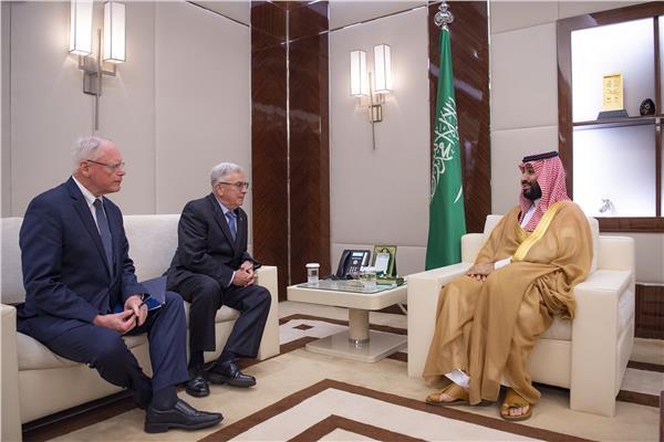 محمد بن سلمان يستقبل مبعوث الرئيس الأمريكي للشأن السوري