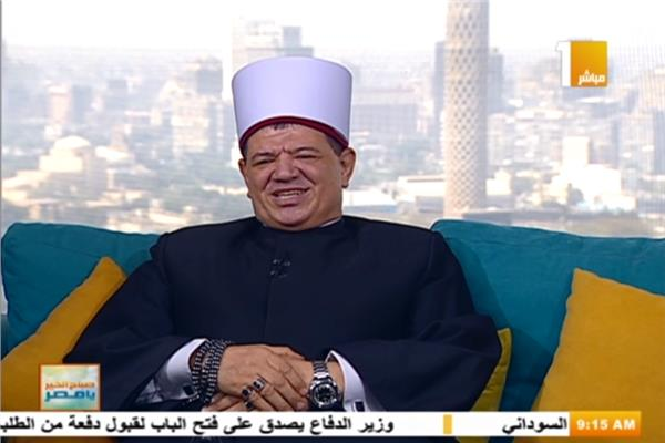 الشيخ أسامة موسى كبير الأئمة بوزارة الأوقاف