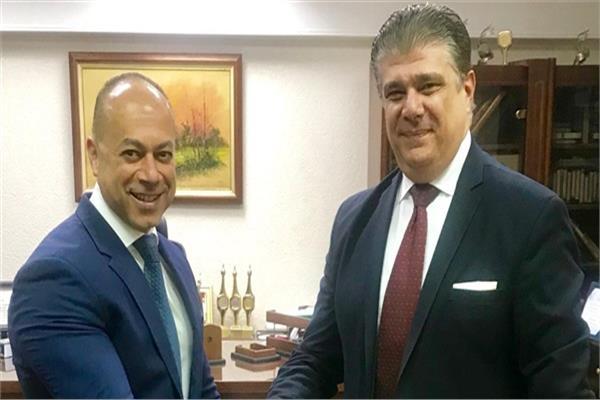 تامر مرسي و حسين زين