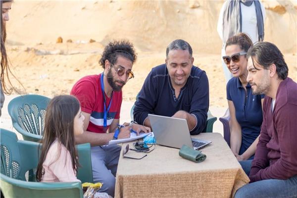 هاني سلامة و رءوف عبدالعزيز وداليا مصطفي