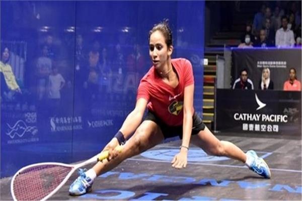 اللاعبة المصرية نوران جوهر