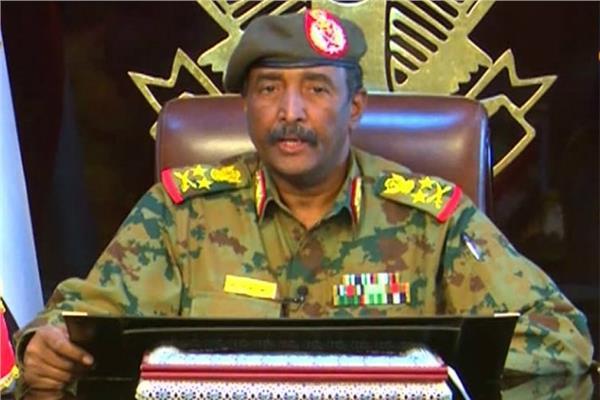 عبد الفتاح البرهان رئيس المجلس العسكري الانتقالي السوداني