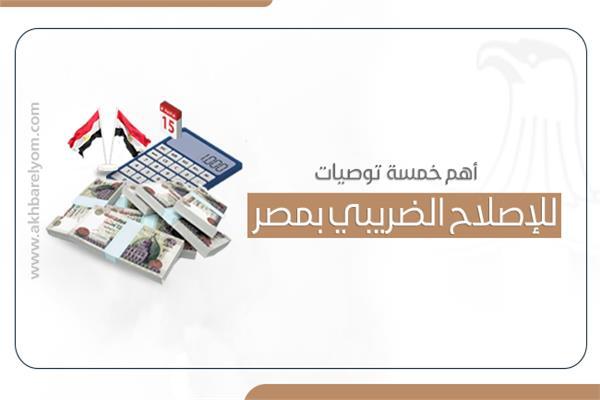 أهم خمسة توصيات للإصلاح الضريبي بمصر