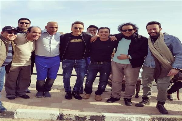 نجوم فيلم قهوة بورصة مصر