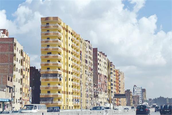 طلاء المباني - صورة أرشيفية