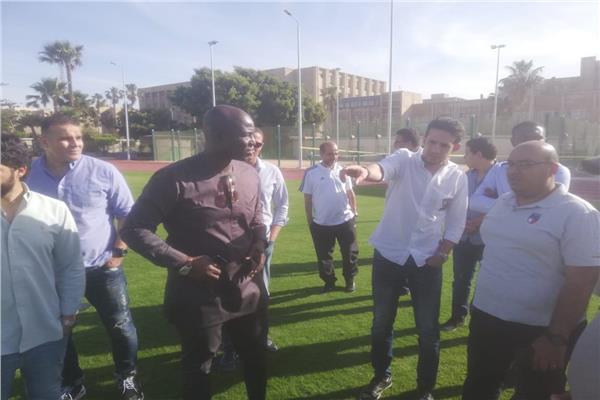 محمد فضل مدير بطولة أمم إفريقيا 2019