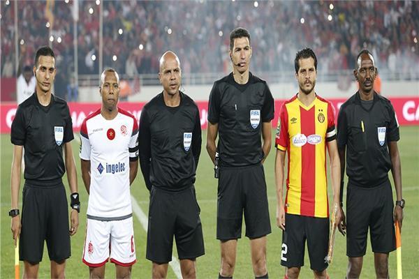 جهاد جريشة في نهائي دوري أبطال إفريقيا