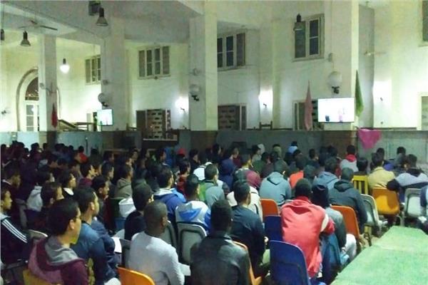 """فتح قاعة """"المصريون"""" بالمدينة الجامعية لطلاب جامعة القاهرة"""