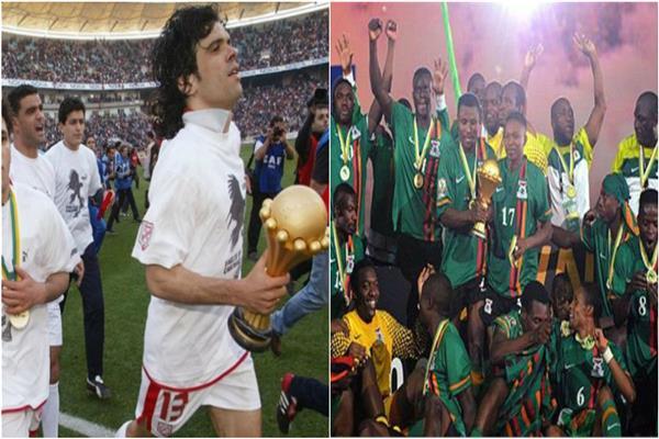 منتخبا زامبيا وتونس