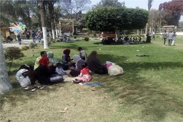 عيد الفطر 2019  استمرار توافد المواطنين على حدائق القناطر الخيرية