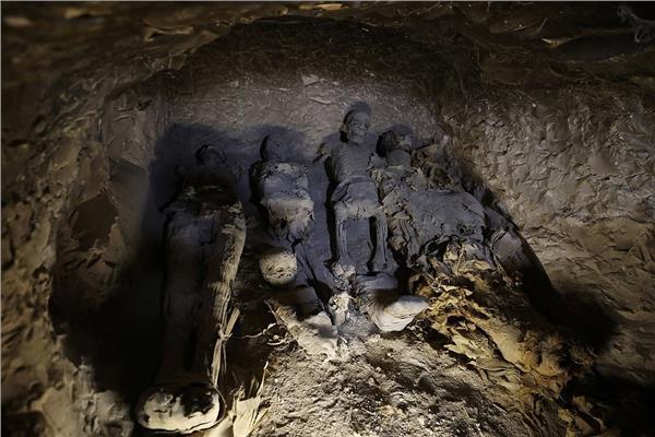 إحدى مقابر المصريين القدماء (رويترز)