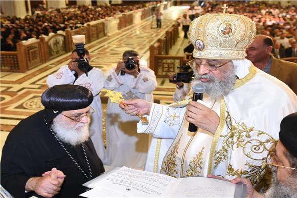 البابا تواضروس والأنبا أنطونيوس