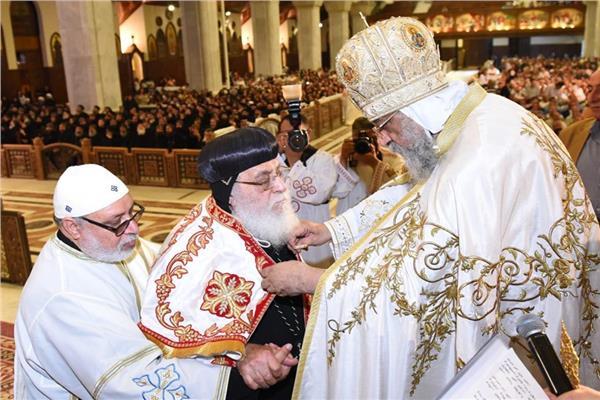 البابا تواضروس والأنبا أنطونيوس مرقس