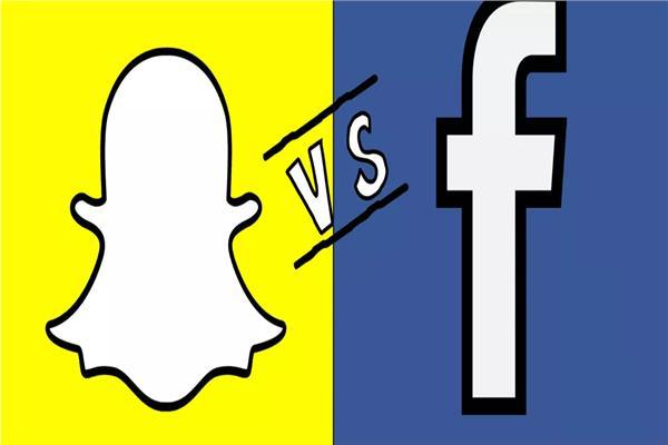 سناب شات تنافس فيسبوك