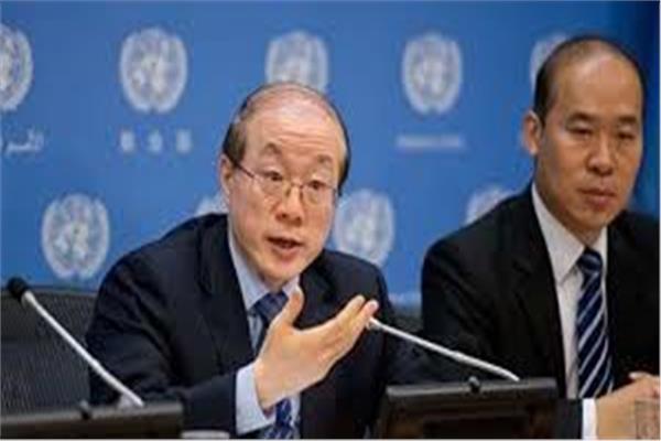ممثل الصين الدائم لدى الأمم المتحدة وو هاي تاو تأييد