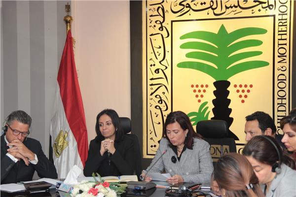 د.عزة العشماوي والدكتورة مايا مرسي