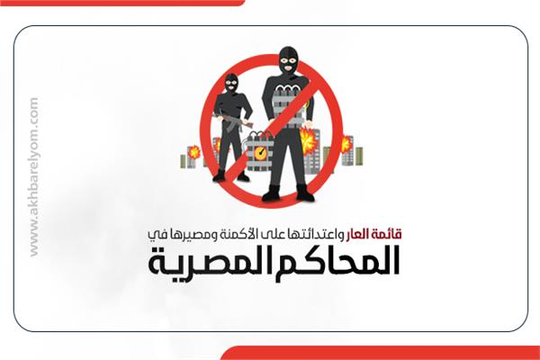 ننشر قائمة العار واعتداءاتها على الأكمنة ومصيرها في المحاكم المصرية