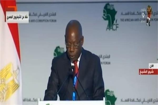 رئيس اتحاد هيئات مكافحة الفساد في إفريقيا