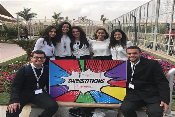 طلاب كلية الإعلام أصحاب المبادرة