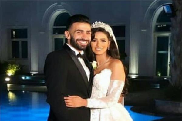 زفاف أسامة إبراهيم مدافع الإسماعيلي