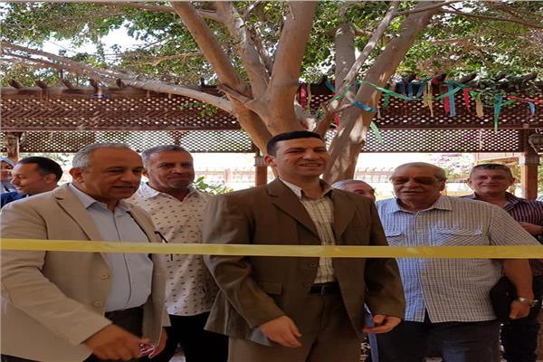 """افتتاح معرض """"انتشار """"بكلية التربية الفنية جامعة حلوان"""