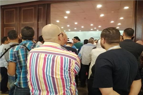 زحام شديد على مقار لجان انتخابات غرفة القاهرة التجارية