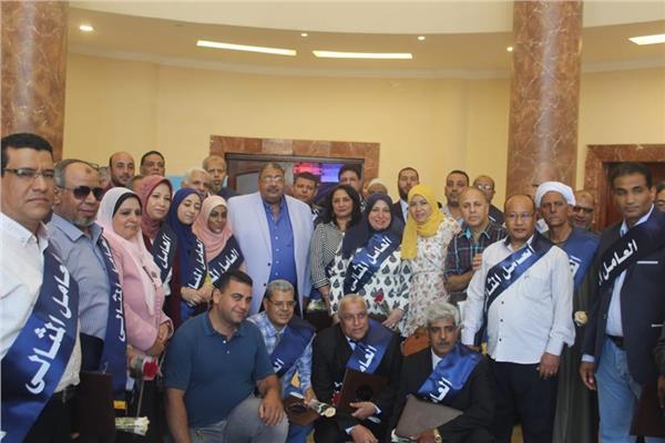 حفل تكريم العامل المثالى لشركة الصرف الصحى بالقاهرة الكبرى