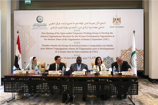 اجتماع مجموعة العمل المؤقتة مفتوحة العضوية لدراسة اللوائح التنظيمية لمنظمة تنمية المرأة