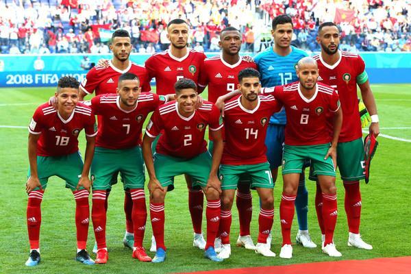 لاعبو منتخب المغرب