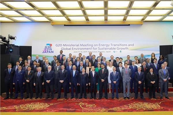 وزراء الطاقة والبيئة لدول مجموعة العشرين
