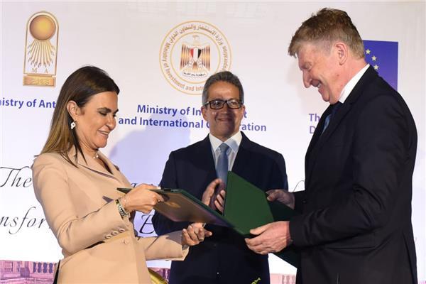 مشروع تطوير المتحف المصري بمنحة 3.1 مليون يورو