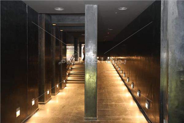 قاعة المومياوات الملكية بمتحف الحضارة