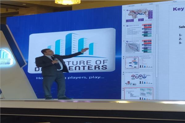 المهندس هشام عبد الفتاح ممثل الشركة المصرية للاتصالات