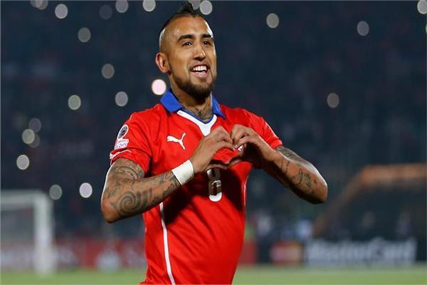 أرتو فيدال لاعب تشيلي