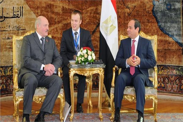 بدء القمة المصرية البيلاروسية لبحث توسيع التعاون المشترك في مختلف المجالات