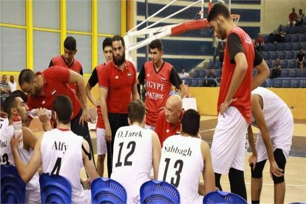 مصر تواجه البحرين في افتتاح البطولة العربية لناشئي السلة