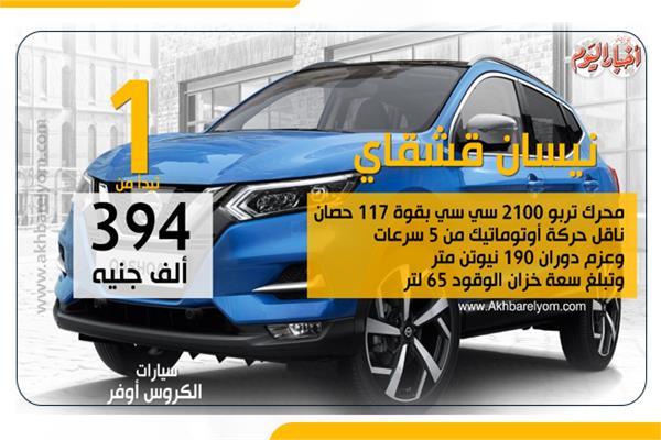 أسعار ومواصفات سيارات «الكروس أوفر»