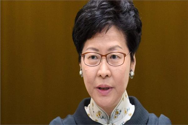 الرئيسة التنفيذية لهونج كونج كاري لام
