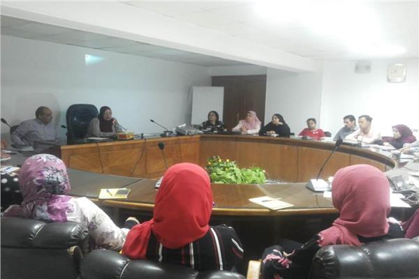 تدريب المرأة بالمحليات عن قضايا العنف